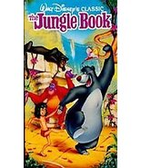 WALT DISNEY'S CLASSIC The Jungle Book (VHS 1991) HOME VIDEO FREE SHIPPIN... - $6.82