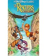 WALT DISNEY'S CLASSIC The Rescuers Down Under VHS 1991 HOME VIDEO FREE S... - $6.82