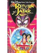 WALT DISNEY'S CLASSIC The Return of Jafar VHS, 1994)HOME VIDEO FREE SHIP... - $6.82