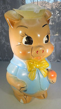 Vintage Plaster Money bank Porky Cartoon Characters 11'' - $160.00