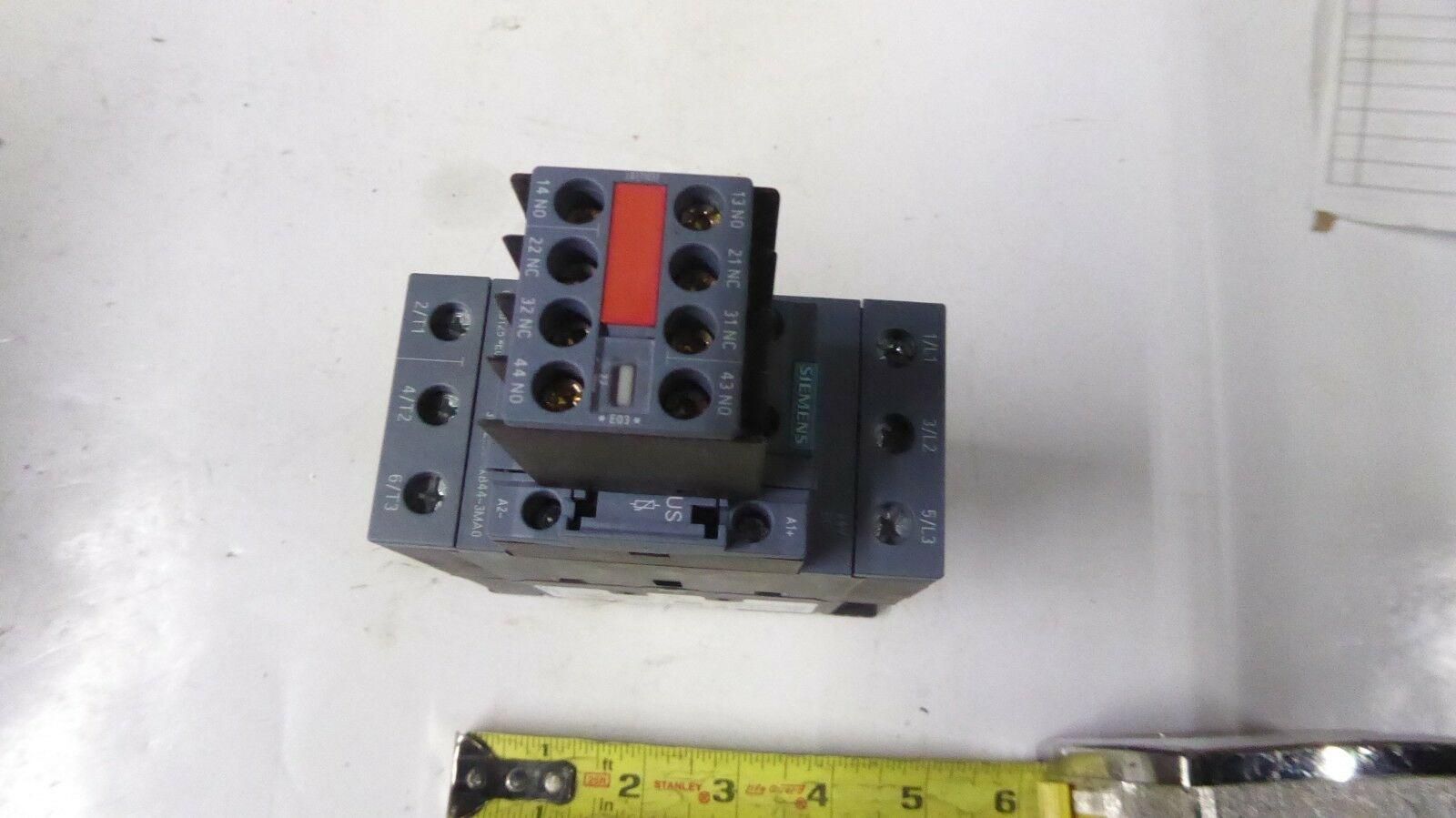 Siemens 3RT2035-1KB44-3MA0 Power Contactor New