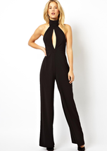 LINANY Designer Halter Sexy Hollow Backless Lad... - $49.99