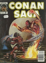 Conan Saga 32 Marvel Comic Book Magazine Dec 1989 - $1.99