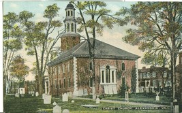 Christ Church, Alexandria, Va, early 1900s unused Postcard  - $3.99