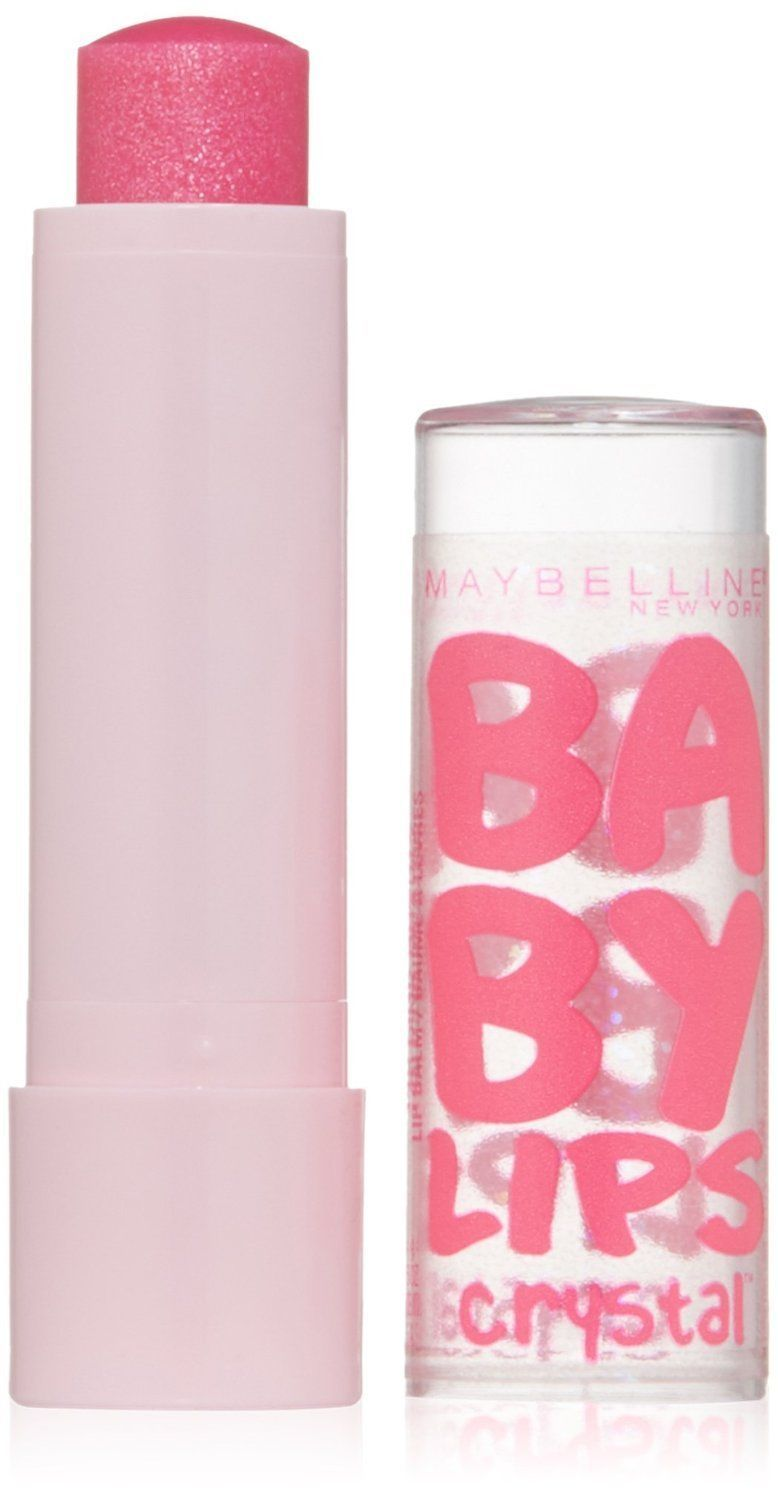 Baby Lips PINK QUARTZ No 140 Crystal Collection 8HR Moisture Lip Balm Maybelline