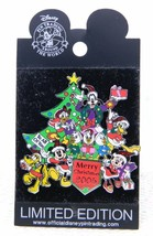 Rare Wdw Mickey & Friends Merry Xmas 2005 Le 500 Disney Trading Pin - $74.25