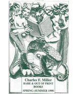 Charles Miller Out Of Print Books Catalog Spring Summer 1998 Hannes Bok ... - $4.95