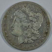 1894 O Morgan circulated silver dollar - VG details  - $56.00