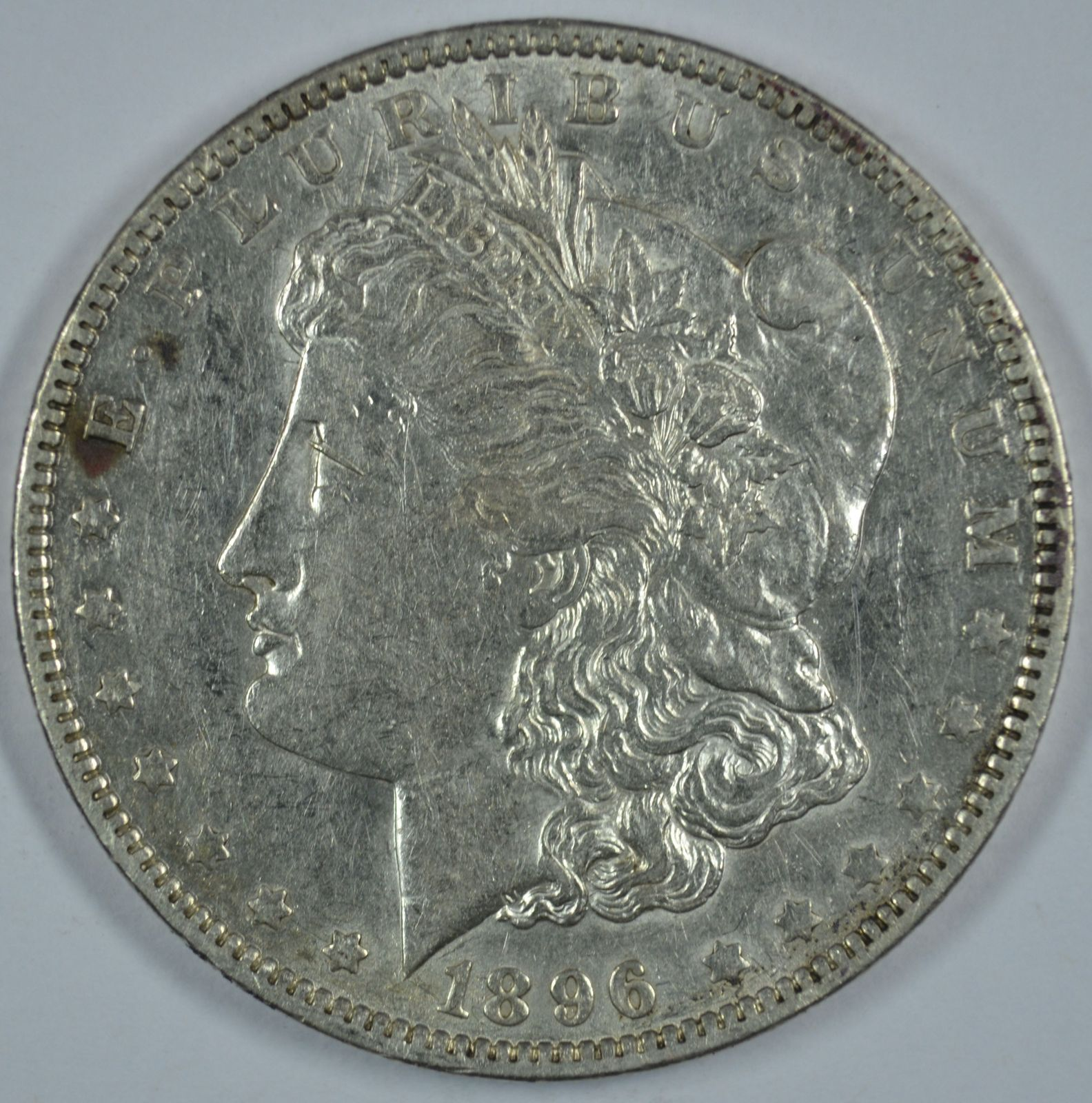 Primary image for 1896 O Morgan silver dollar - VF+ details