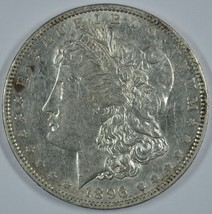 1896 O Morgan silver dollar - VF+ details - $56.00