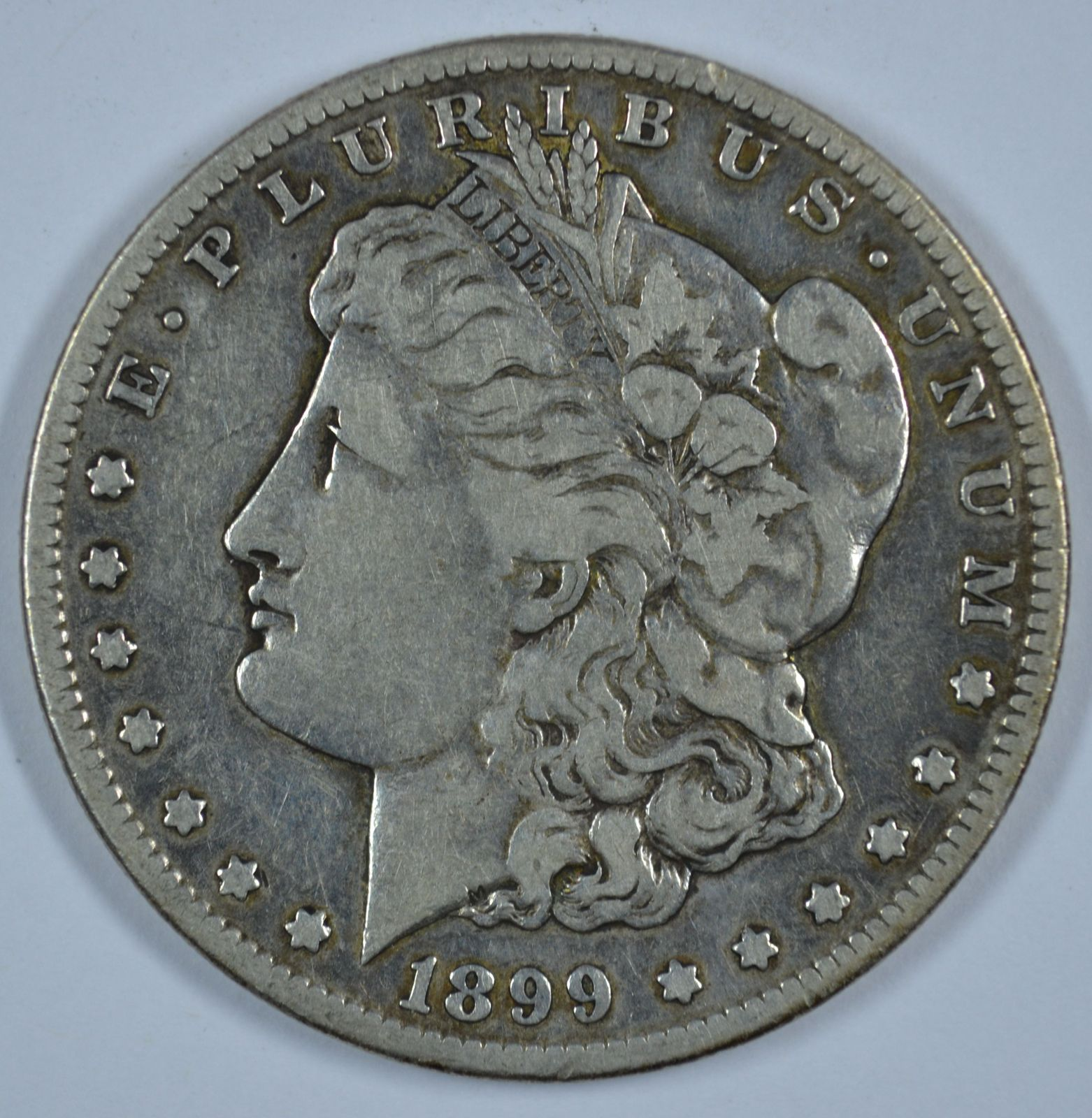 Primary image for 1899 S Morgan circulated silver dollar