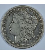 1899 S Morgan circulated silver dollar - $40.00