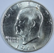 1971 S Eisenhower 40% silver uncirculated dollar - $15.75
