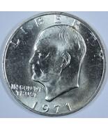 1971 S Eisenhower 40% silver uncirculated dollar - $15.75