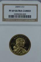 2005 S Sacagawea Proof dollar NGC PF 69 Ultra Cameo - $13.00