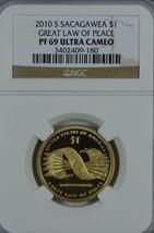 2010 S Sacagawea Proof dollar NGC PF 69 Ultra Cameo - $14.00