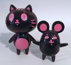 Baketan Pink Metallic Cat and Mouse Set RARE and LIMITED Set image 2