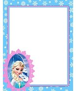 NEW Frozen Elsa Letterhead Stationery Paper 26 Sheets [Baby Product] - $11.39