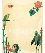 NEW Adventureland Letterhead Stationery Paper 26 Sheets [Office Product] - $9.99