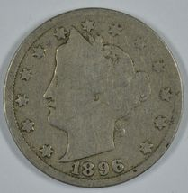 1896 Liberty Head circulated nickel  - $18.00