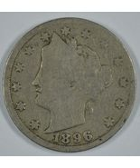 1896 Liberty Head circulated nickel  - $18.00