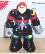 Vintage 2001 Fisher Price Rescue Heroes Fire Fighter Action Figure #3 - $9.90