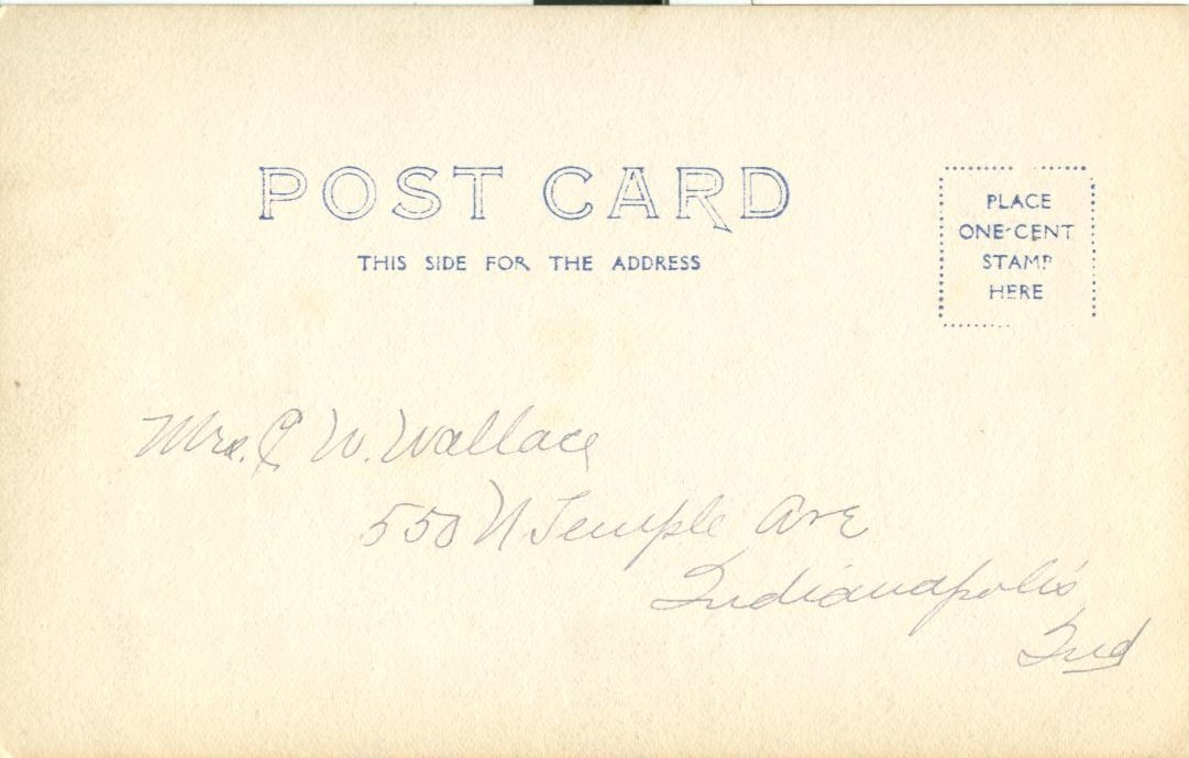 Church, 1906 used Postcard