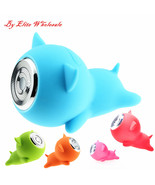 Cute Cartoon Piggy Portable Waterproof Mini Bluetooth Wireless Speaker - $19.98