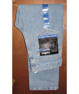 Mens Carhartt Relaxed Fit Straight Leg Blue Jeans Size 30 x 32 NWT  - $19.99