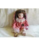 1988 Brinn's Porcelain Doll Named Wanda Collector's Addition - $18.81
