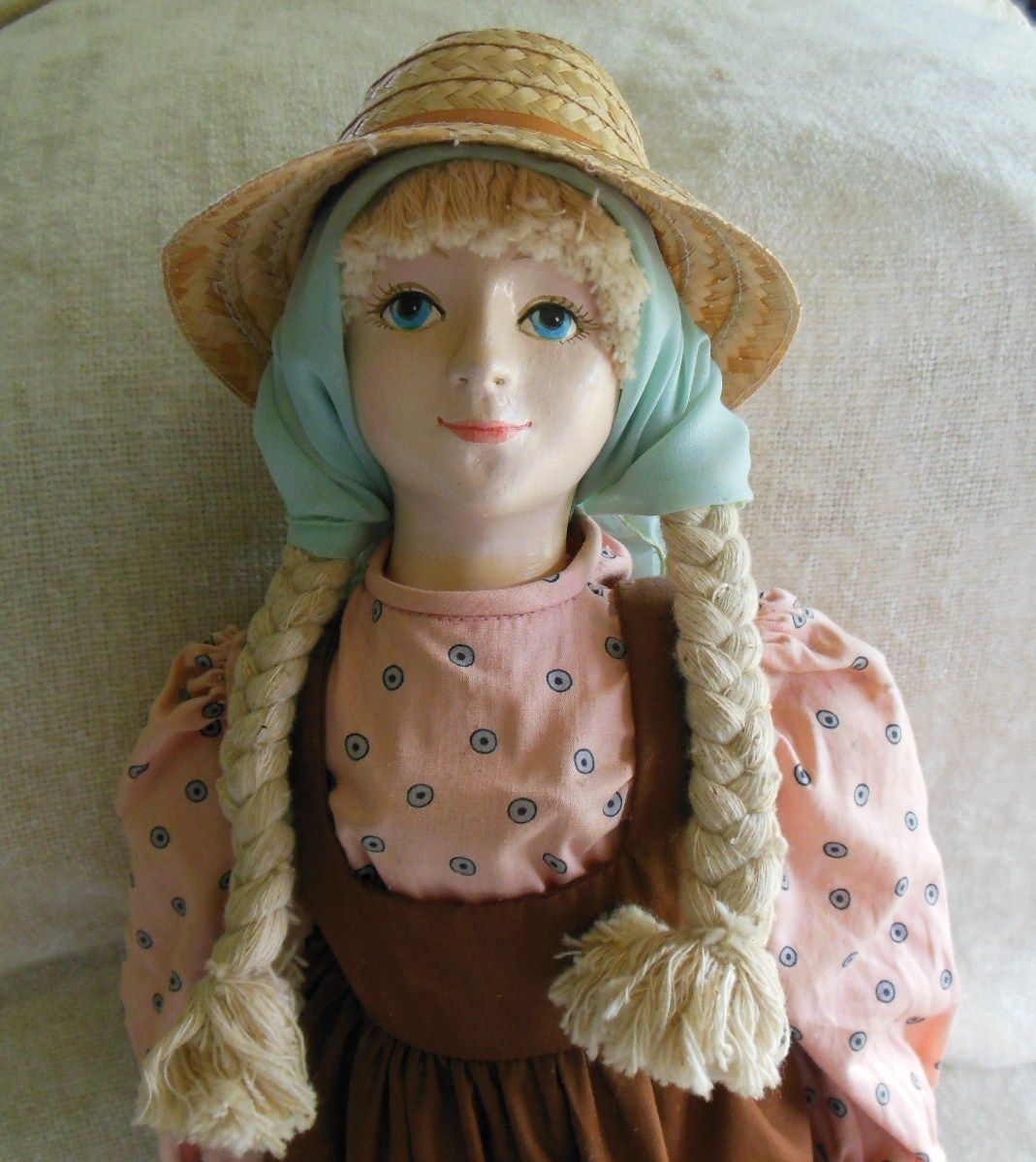 Primary image for Abigail Porcelain/Cloth Doll by Artist Mary Lake-Thompson for Doll Crafters Clas