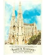 St. Patricks Cathedral trading card (Catholic Church) 2009 Topps Allen &... - $3.00