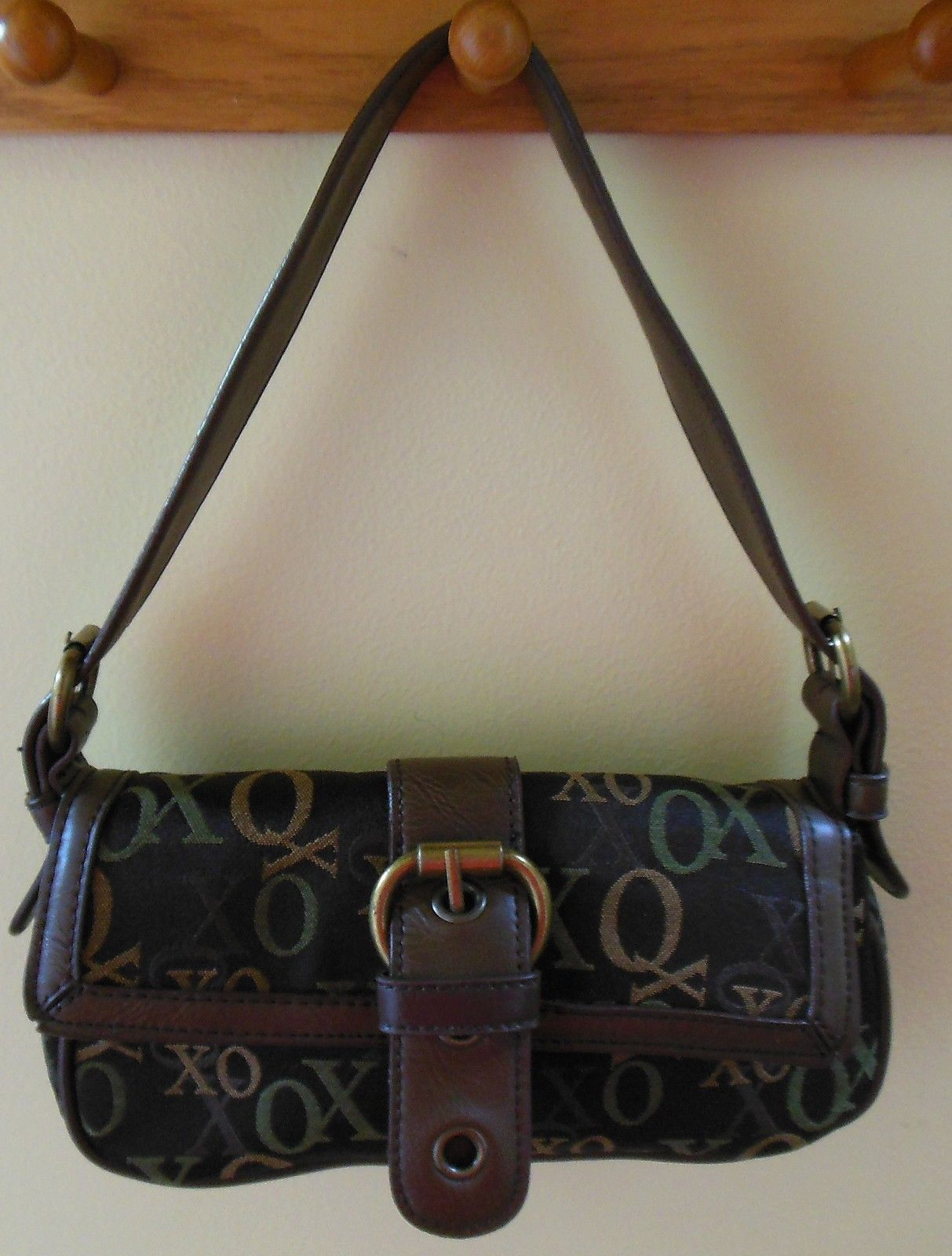 XOXO Brown Signature Handbag
