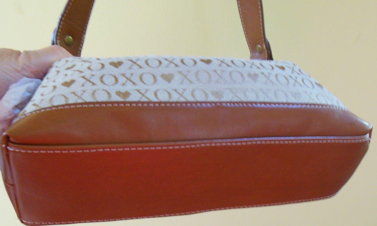 XOXO Handbag/Purse Brown/Gold/Beige
