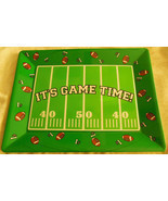 "Football Rectangular Food/Serving Tray -14"" x 10"" Medium - £3.87 GBP"