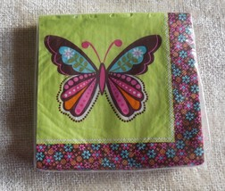 Hippie Chick Beverage Napkins (16 per package) - €4,10 EUR