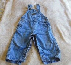 Oshkosh B'Gosh Vestbak Denim Bib Overalls 24 Mo  - $9.89