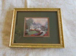 Thomas Kinkade Accent Prints Home Is Where the Heart Is  COA on back - $48.02
