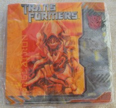 Transformers Beverage Napkins - €5,43 EUR