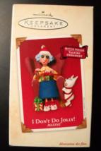 Hallmark Keepsake Christmas Ornament 2002 Maxine I Don't Do Jolly Talkin... - $19.99