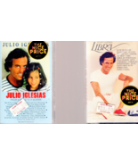 Music Cassettes - Julio Iglesias - 2 Cassettes 1 From a Child to A woman... - $4.95