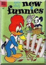 Walter Lantz New Funnies #236 (1956) *Silver Age / Dell Comics / Rare Title* - $11.49