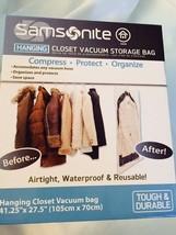 """Samsonite Hanging Closet Vacuum Storage Bag 41.25"""" x 27.5"""" (105cm x 70cm... - $17.99"""
