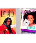 Music Cassettes -Patti La Belle -2 Cassettes (Burin & Winner In You) - $4.95