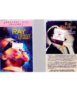 Music Cassettes- 2- Ray Charles Tapes  - $4.95