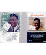 Nat King Cole - 2 music Cassette -(Unforgettable & love Is Here To Stay) - $4.95