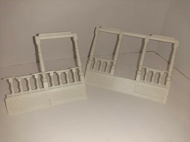 Precious Places Magic Key Mansion REPLACEMENT White Porch 2 Sections Only - $24.75