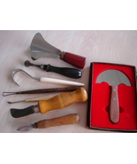 Vintage Hand Tools. 8 Piece, Japan, Corona, Wood Handles Bak - $12.99