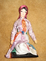 Collectible European Doll on Wooden base - $15.00