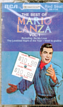 Maio Lanza Audio Cassette - The Best of Mario Lanza - $5.95